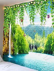 Недорогие -красивые природные пейзажи напечатаны большие настенные гобелены дешевые хиппи на стене висят богемные гобелены мандала стены искусства декора