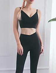 cheap -Activewear Top Ruching Women's Training Running Elastane