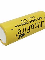 Недорогие -LiR26650 Литий-ионная 26650 батарея 5000 mAh 1шт Портативные Для профессионалов Простота транспортировки для Фонарь Велосипедный свет Налобные фонари Отдых и Туризм Охота Рыбалка