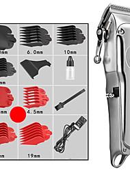 Недорогие -Уход за волосами Волосы Триммеры для волос Влажное и сухое бритье Нержавеющая сталь
