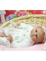 cheap -NPK DOLL Reborn Doll Baby Newborn lifelike Cute Hand Made Child Safe with Clothes and Accessories for Girls' Birthday and Festival Gifts / Non Toxic / Lovely / CE Certified / Kid's