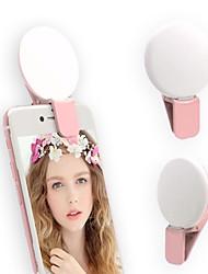 cheap -2pcs Mini Mobile Phone Fill Light TikTok Youtube Light Photography Beauty LED Flasher Mini Selfie Light with Flickering SOS Signal