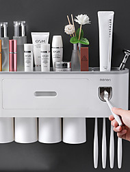 cheap -Toothbrush Mug New Design / Easy to Use Fashion / Modern Contemporary Plastic 1 set - tools Toothbrush & Accessories