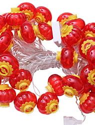 Недорогие -2,5м Гирлянды 10 светодиоды Красный Декоративная Работает от USB