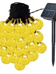 Недорогие -6m40 светодиодный солнечный свет ветра перезвон свет привели сад подвесной блесна цвет меняется солнечная лампа сада украшения дома солнечная гирлянда