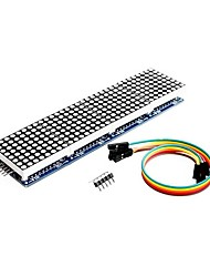 cheap -MAX7219 Dot Matrix Module 4 in 1 Display for Arduino Microcontroller with 5Pin Line