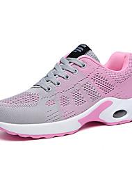 cheap -Women's Athletic Shoes 2020 Flat Heel Round Toe Mesh Walking Shoes Summer Purple / Fuchsia / Pink