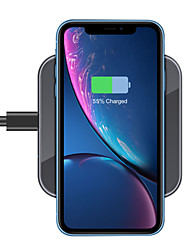 cheap -15/10/7.5/5 W Wireless Charger USB Charger USB LED Lights / with Cable / Multi-Output 1 USB Port 2 A / 1 A / 1.67 A DC 12V / DC 9V / DC 5V for Apple Watch Series 3 / Apple Watch Series 2 / Apple