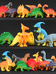 cheap -Dinosaur Toy Dolphin Fish Shark Butterfly Insect Whale Plastic 12 pcs Kids T-Rex Brachiosaurus Stegosaurus Triceratops Raptor Party Favors, Science Gift Education Toys for Kids and Adults