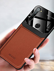 cheap -Luxury Leather Phone Case For Xiaomi Redmi Note 8T Note 8 Pro K30 K20 Pro Redmi 8A Note 7 Redmi 8 Soft TPU Shockproof Back Cover Acrylic Camera Protection