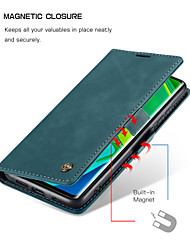 cheap -CaseMe New Retro Leather Magnetic Flip Case For Xiaomi CC9 Pro With Wallet Card Slot Stand For Xiaomi Note 10 / Note 10 Pro Case Cover