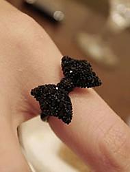 cheap -Ring Black Alloy Elegant Holiday European 1pc 10 / Women's