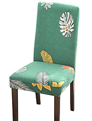 cheap -Green Check Print Super Soft Chair Cover Stretch Removable Washable Dining Room Chair Protector Slipcovers Home Decor Dining Room Seat Cover