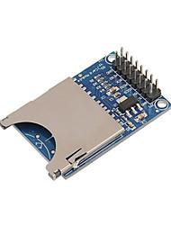 Недорогие -Raspberry Pi SD-карты модуль слот гнездо считыватель руку Mcu чтения и записи