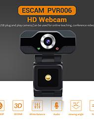 Недорогие -escam pvr006 hd 1080p веб-камера 2 мегапикселя usb2.0 веб-камера широкая совместимость с автофокусом компьютер ноутбук веб-камеры камера 90