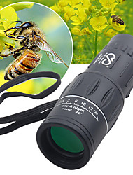 cheap -SRATE 16 X 52 mm Monocular High Definition Portable Fully Coated BAK4 Camping / Hiking Hunting Traveling Plastic Rubber Aluminium Alloy / Bird watching