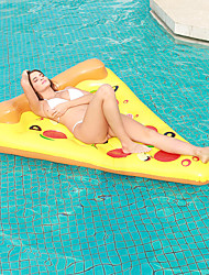cheap -Pizza Inflatable Pool Floats PVC Quick Dry Inflatable Durable Swimming Water Sports for Adults Kids 180*150 cm