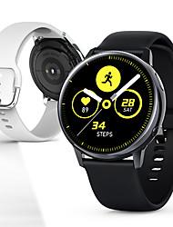 Недорогие -g2 мужчины женщины smartwatch android ios bluetooth водонепроницаемый сенсорный экран scree 1.2 дюймов амолед круглый экран сердечного ритма ЭКГ кровяное давление кислорода в крови шагомер музыки