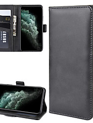 cheap -For  Apple iPhone 11 / iPhone 11 Pro / iPhone 11 Pro Max Wallet Stand Leather Cell Phone Case with Wallet & Holder & Card Slots