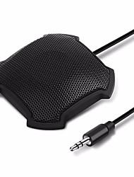 Недорогие -Tyless 3.5 мм штекер микрофона настольный всенаправленный электретный граничный компьютер конференц-микрофон для скайпа voip call голосовой чат