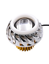 cheap -OTOLAMPARA 1pcs Wire Connection Motorcycle Light Bulbs 30 W SMD 3535 1200 lm 3 LED Headlamps For Motorcycles All Models 2018 / 2016 / 2017