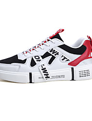 cheap -Men's Canvas Summer Casual Athletic Shoes Black and White / White / Beige