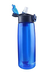 cheap -Portable Water Filters & Purifiers Cup 650 ml for Outdoor Exercise Traveling Bike / Cycling 1 pcs Blue Green