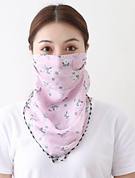 cheap -Women's Bandana Balaclava Neck Gaiter Neck Tube UV Resistant Quick Dry Lightweight Materials Cycling Polyester for Men's Women's Adults / Pollution Protection / Floral Botanical Sunscreen / High Breat