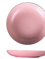 Недорогие -Цельный Обеденные тарелки Новый дизайн Керамика