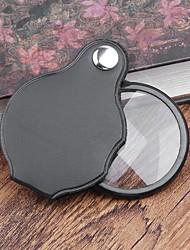 Недорогие -3шт портативный мини-лупа складной чтение лупа ювелирные изделия увеличительное стекло