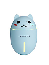 cheap -1Pc USB Mini Humidifier/Cute Night Light Humidifier/Small Fan Household Humidifier Three In One