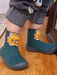 Недорогие -Девочки Удобная обувь ПВХ Резиновые сапоги Маленькие дети (4-7 лет) Желтый / Красный / Оранжевый Лето