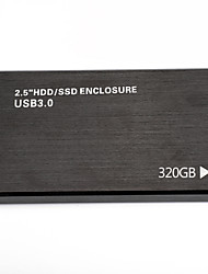 Недорогие -litbest yd0012 hdd мобильный высокоскоростной внешний портативный жесткий диск персональное облако интеллектуальное хранилище 2.5 дюйма usb3.0 черный 120 г / 160 г / 250 г / 320 г / 500 г