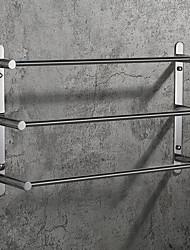 cheap -Bathroom Accessory Set / Towel Bar / Bathroom Shelf Creative / Multilayer / Premium Design Contemporary / Antique Stainless Steel 1pc - Bathroom 3-towel bar Wall Mounted