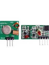 cheap -New 433 Mhz RF Transmitter & Receiver Wireless Module Arduino ARMMCU