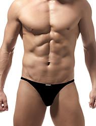 cheap -Men's Basic Briefs Underwear Low Waist Blushing Pink Orange Blue M L XL