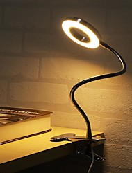 cheap -Table Lamp / Desk Lamp / Reading Light Adjustable / Dimmable Modern Contemporary USB Powered For Bedroom / Office Black / CE Certified