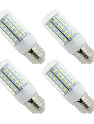 cheap -4PCS E27 E14 LED Lamp LED Bulb SMD5730 Corn Bulb 48LEDs Chandelier Candle LED Light For Home Decoration Ampoule  220V or 110V