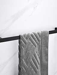 cheap -Towel Bar New Design / Creative Contemporary / Modern Stainless Steel / Low-carbon Steel / Metal 1pc - Bathroom Single Wall Mounted