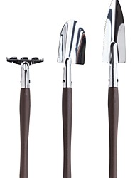cheap -Aluminum Alloy Agricultural Tools Gardening Tools Three-piece Combination Set Garden Gardening Digging Shovel Flowering Tools