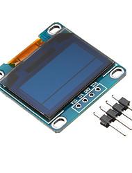 Недорогие -0,96-дюймовый 4-контактный синий желтый модуль iic i2c oled
