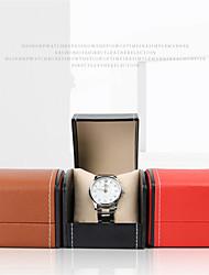 Недорогие -Смотреть Дисплей Стенд Коробки для часов Кожа 8 cm 9 cm