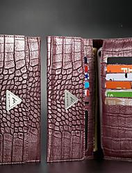 Недорогие -крокодил шаблон все ниже 6,5 дюймов универсальный телефон сумка для iphone 11 кожаный чехол бумажник флип samsung кредитная карта для huawei сумка xiaomi