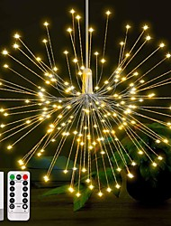 cheap -12.5cm String Lights 150 LEDs Warm White White Multi Color Creative Party Christmas Wedding Decoration AA Batteries Powered