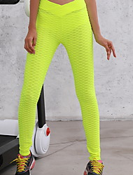 cheap -Women's Sporty Slim Sweatpants Pants - Solid Colored White Black Blushing Pink S / M / L
