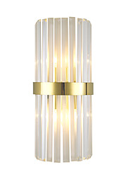 cheap -Crystal Modern Wall Lamps Wall Sconces Bedroom Crystal Wall Light 220-240V 5 W
