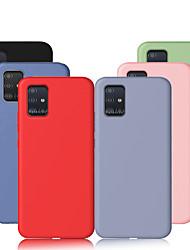 cheap -For Samsung Galaxy A51 A71 A80 A90 Case Liquid Silicone Soft TPU Cover For Samsung Galaxy A70 A50 A40 A30 A20 A10 A20e A7 2018 Case