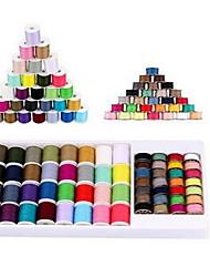 Недорогие -56 цветов полиэстер вышивальная машина комплект ниток для брата babylock певица janome husqvarna бернина вышивальные и швейные машины