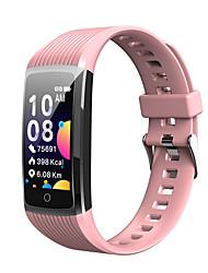 Недорогие -KUPENG KR12 Универсальные Умные браслеты Android iOS Bluetooth Водонепроницаемый Сенсорный экран Пульсомер Спорт Медиа контроль