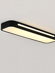 cheap -12 cm Geometric Shapes Flush Mount Lights Metal Acrylic Painted Finishes LED Modern 110-120V 220-240V